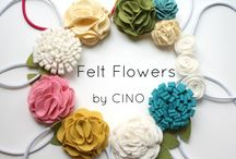 Home, Weddings - DIY and fabric flowers, jewellery / fabric flowers, jewellery, ...