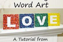 Kids Art / Crafts Ideas