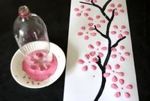 Montessori Spring Art Works