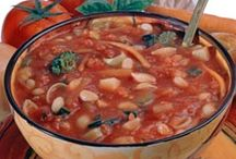Scrumptious Soups / Tasty soups to warm you up