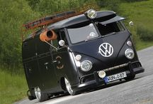 VW BUS TOP HEADLIGHT