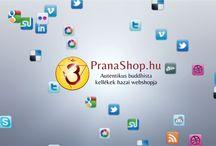 PranaShop.hu mozzanatok / PranaShop.hu történések