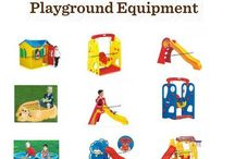 Playground Equipments / Playground equipments enhance the school indoor and comes in attractive colors making the children attracted to play with these equipments.