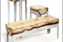 Accent Furniture / Coffee tables, side tables, slipper chairs / by Allie Reiter
