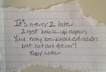 Toby mac❤️ / by Breanna Honaker