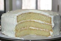 White choc cake