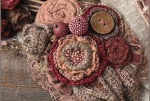 Fabric Flowers Jewelry