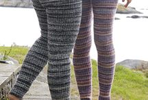 Knitting (tights & pants)