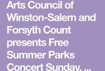 free events in the Piedmont Triad 2018