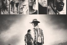 Walking dead Carl, Maggie, Glenn,Daryl, Rick