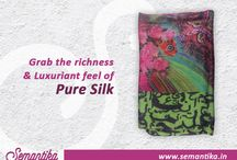Shawls of Fame / Showcasing the various attractive variety of designer shawls from Semantika with a classic description.