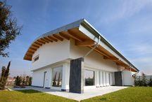 Villa moderna a Bolgare (BG) / Villa moderna in legno a Bolgare (BG) https://www.marlegno.it
