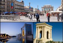 Montpellier: J'adore cette ville! / Images of one of my favourite towns