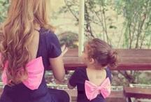 Mom and kids fashion