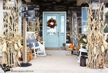 Fall Decor Ideas / Inspiration for your home for the fall months.