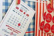 Zaproszenia | Kartka z kalendarza