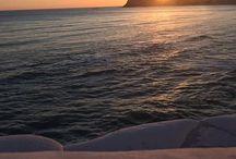 Tramonti d'estate / Le soleil se couche...