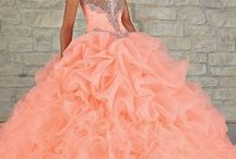 Bianca's quince dresses