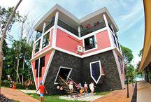 Upside Down in Phuket / Turn yourself Upside Down in Baan Teelanka in Phuket