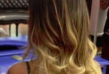 Ombré hair/peek a boo highlights / by Liz Shippe Hofrichter