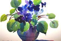 Akvarellek (watercolor)