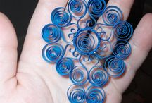 Quilling ornament