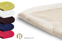 Rhomtuft Bathrugs / High quality bath rugs, Made in germany, by Rhomtuft.