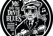 Blues comic strip / Me and the Devil Blues - the daily Blues themed comic strip from Grego Anderson of Mojohand.com