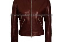 Jack Reacher Never Go Back Susan Turner Leather Jacket / Get this Cobie Smulders Jack Reacher Never Go Back Burgundy Leather Jacket at most low price from Sky-Seller and avail free Shipping.