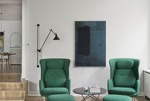 Zielone fotele