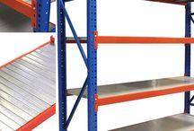 Storage solutions - storage racking - stock room shelving - garage storage - warehouse racking -fashion storage rails / Storage ideas for warehouse storage - pallet storage - garage storage - stock room racking - stock room shelving -