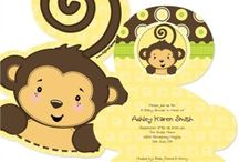 Monkey Baby Shower / Monkey Baby Shower Ideas for Baby Girl or Baby Boy! / by Maternity and Baby Showers