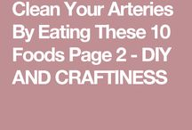 Clean arteries