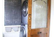 Basement bathroom/laundry room