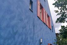 """Farbkonzepte für Fassaden / Ich würde hier gern gelungene Farbkonzepte für Fassaden zu sammeln, """"bescheidene"""" sehen wir alle wohl jeden Tag genug. ;-)"""