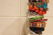 storage for jewelry / by Jacki Hackworth Greisen