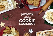 Your Holiday Cookie Exchange / In this board you'll find everything you need to throw a fun and festive Holiday Cookie Exchange! / by Country Crock