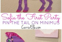 Mila's 2nd sofia the first birthday party / by Autumn Hunt