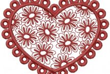 St. Valentine's Day Embroidery Designs