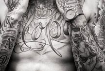 Tattoos mannen / by Eva
