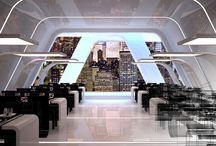 Imagine Virtual - Radio-Hotel.com - website backgrounds / Radio-hotel -  website 3D backgrounds - by Imagine Virtual