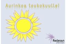 Kevättä rinnassa! / Aurinkoa, iloa ja uutta ideointia =)