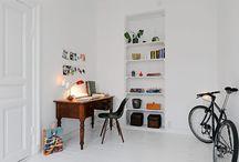 Closets and bookshelfs