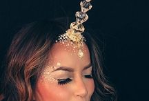 Единороги (Unicorns) / Костюмы и макияж единорога на хэллоуин costumes, images, makeup, manicure, ideas