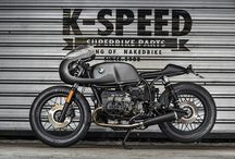 Cafe Racers and motorbikes