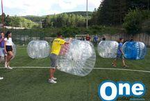 Bubble Football / La grande novità dello scorso anno, anche grazie alla pubblicità TIM, riproposta per accontentare tutti!!!