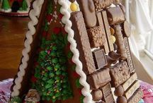 gingerbread house / by maxine mcleod