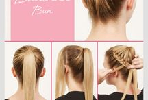Hair arrange ideas