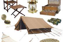 Safari Style Camping
