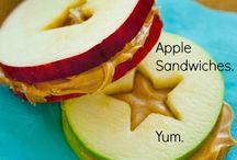 Apple sandwich